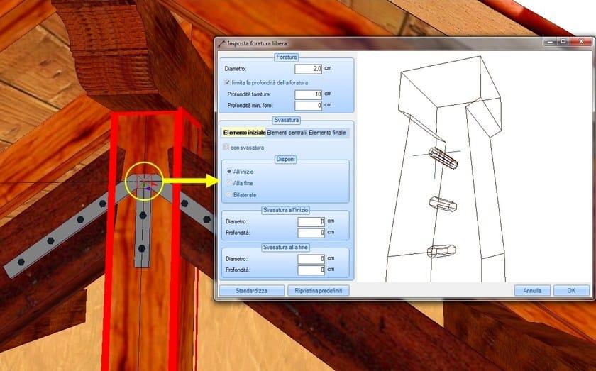 Progettazione tetti in legno woodcon a tetti in legno for Software di progettazione di case in legno