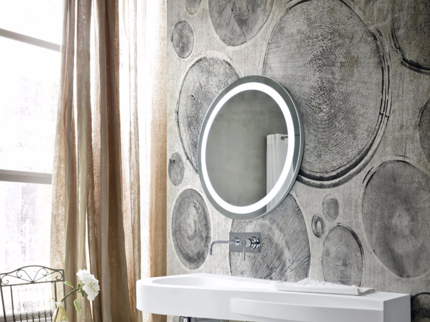 Motif wood effect panoramic wallpaper WOOD CUT - Inkiostro Bianco
