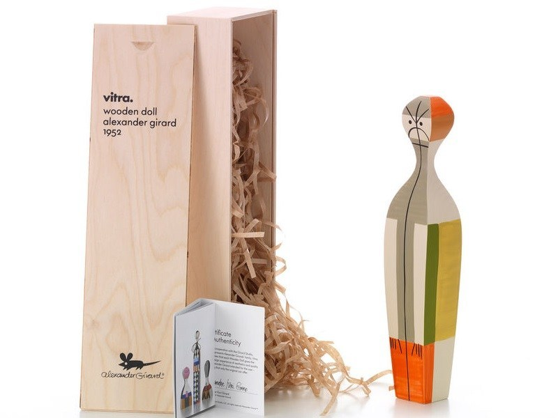 Wooden sculpture WOODEN DOLL N.14 - Vitra