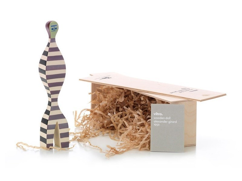 Wooden sculpture WOODEN DOLL N.16 by Vitra