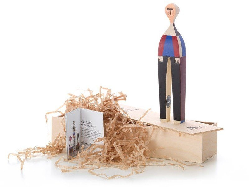 Wooden sculpture WOODEN DOLL N.22 by Vitra