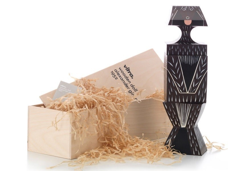 Wooden sculpture WOODEN DOLL DOG LARGE - Vitra