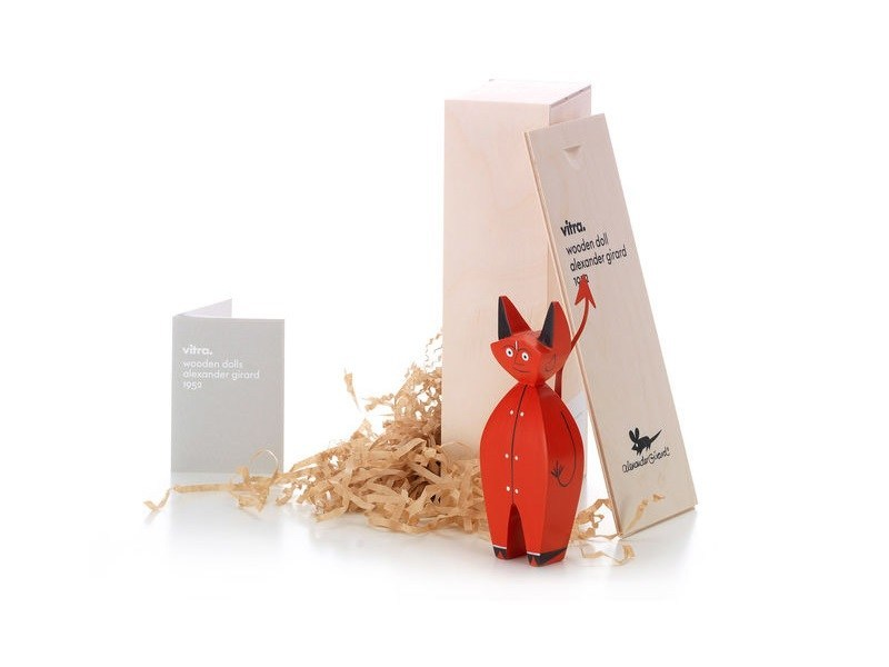 Wooden sculpture WOODEN DOLL LITTLE DEVIL - Vitra