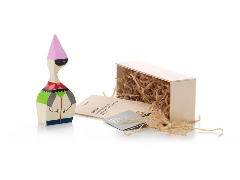 Wooden sculpture WOODEN DOLL N.6 by Vitra