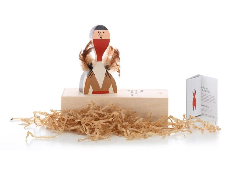 Wooden sculpture WOODEN DOLL N.10 - Vitra