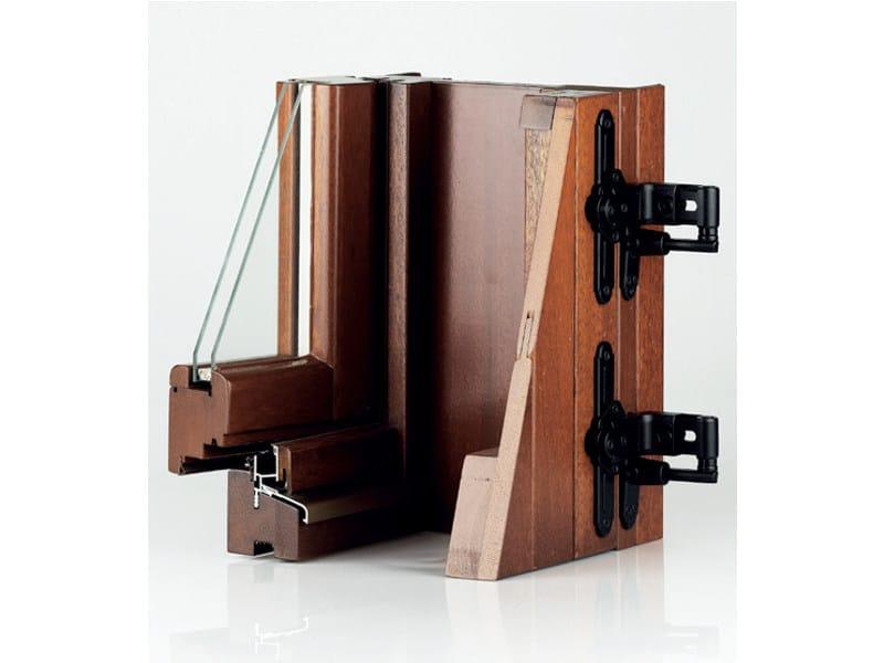 Panel shutter Wooden panel shutter - Pail Serramenti