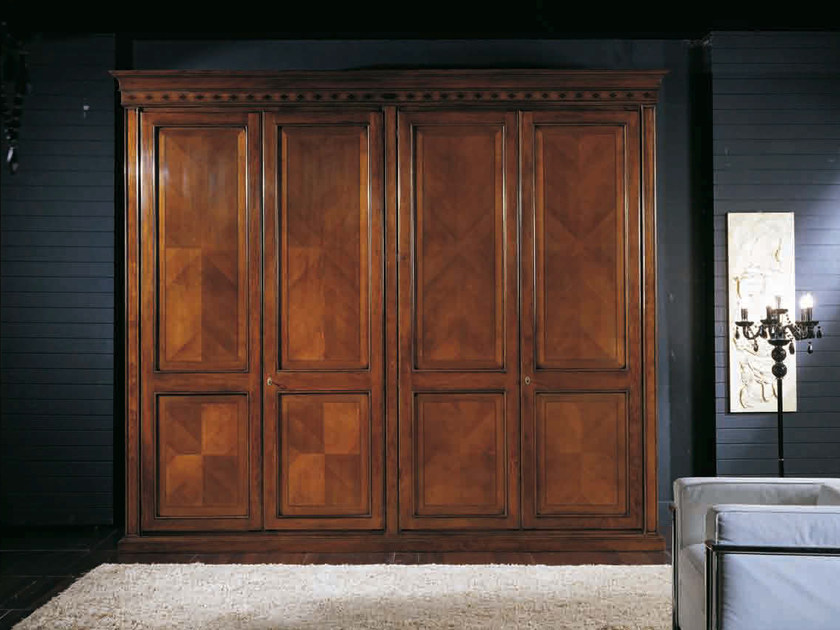 Solid wood wardrobe CASANOVA | Wardrobe by Arvestyle