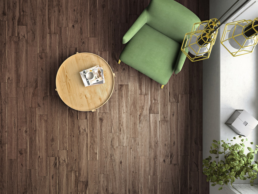 Porcelain stoneware flooring with wood effect WOODLIKE by Ragno