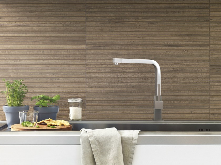 Porcelain stoneware wall tiles with wood effect WOODSTYLE | Wall tiles - Ragno