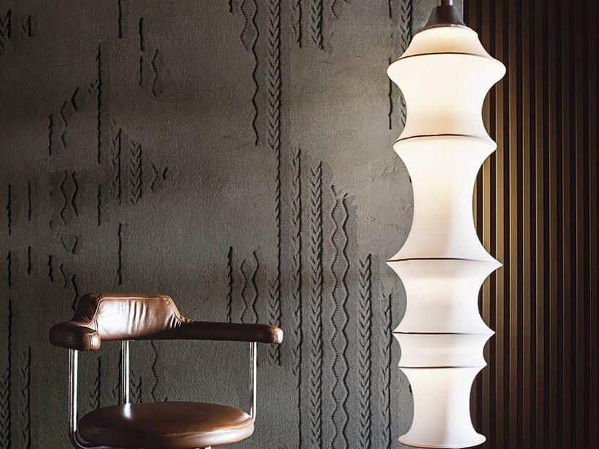 Motif wallpaper WOOL - Wall&decò