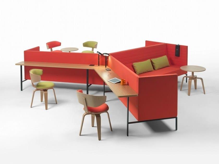 Multimedia office booth WORKSHAKER - Giulio Marelli Italia