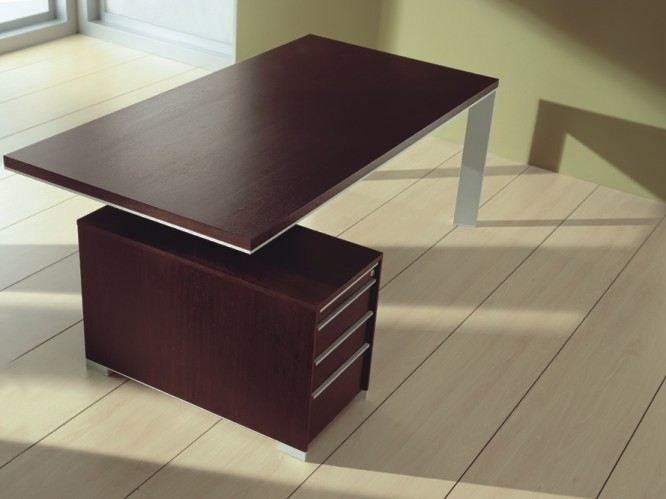 Rectangular workstation desk IN | Workstation desk - BALMA