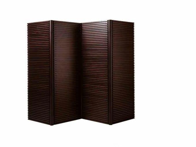 Wood veneer screen TAU | Workstation screen by ARTOM by Ultom