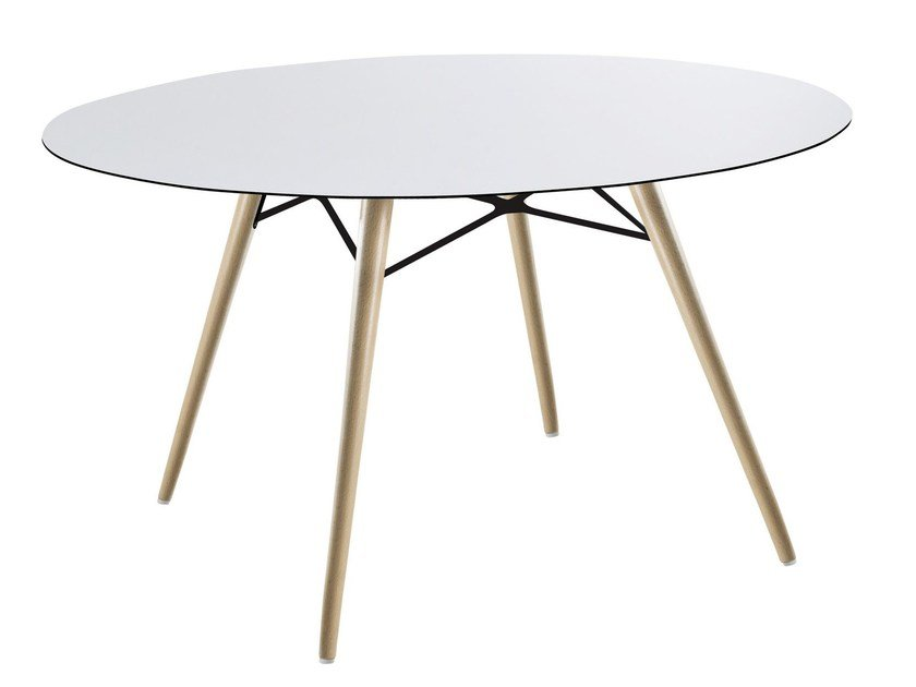 Round dining table WOX | Round table by Papatya
