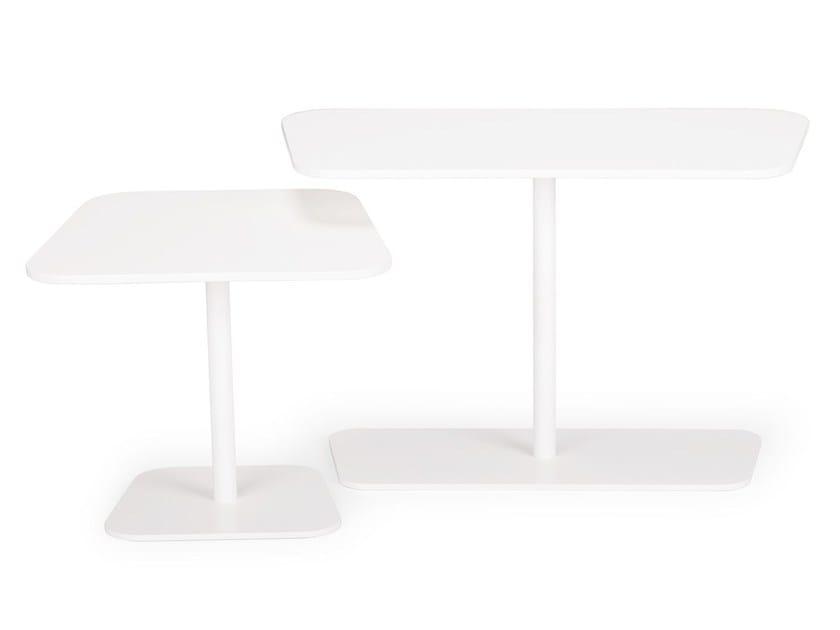 Rectangular MDF coffee table WRAP   Rectangular coffee table - True Design