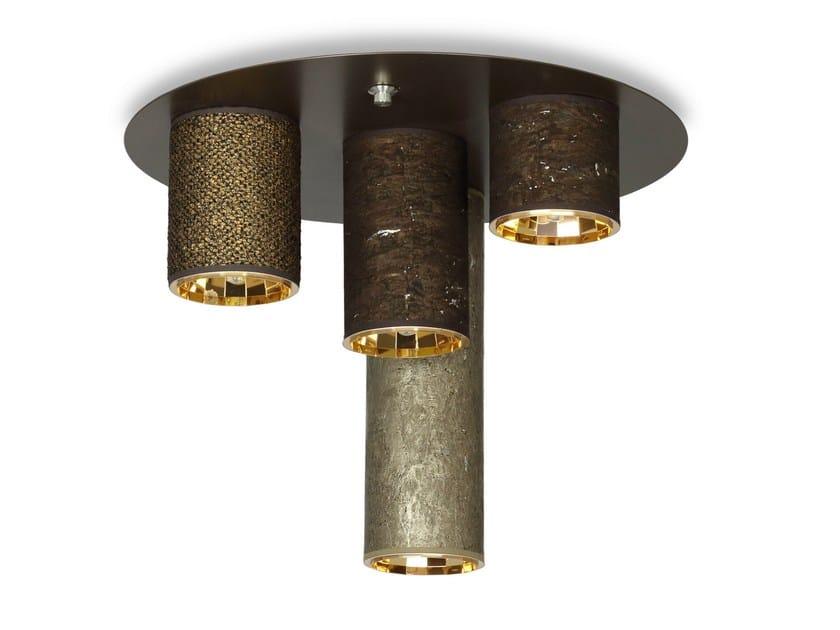 Metal ceiling lamp WRF600 - Hind Rabii