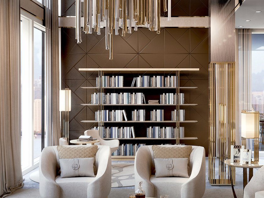 Open bookcase SYMPHONY - INFINITY | Bookcase by Bizzotto