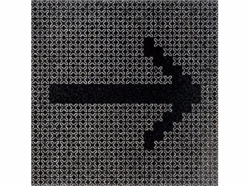 Marble grit wall tiles X-CROSS SIGNS by Mipa