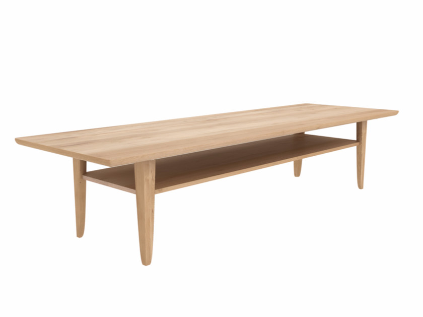 Rectangular oak coffee table OAK SIMPLE | Rectangular coffee table by Ethnicraft