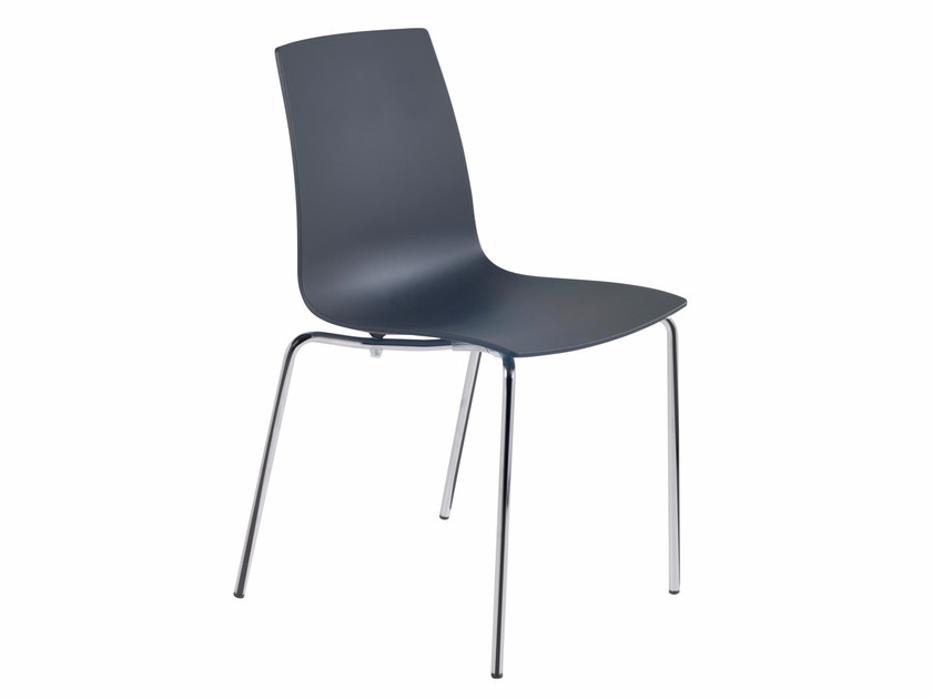 Polycarbonate chair X-TREME S by Papatya