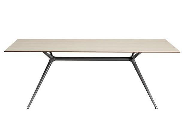 Rectangular meeting table X-WORK | Meeting table - SMV Sitz- und Objektmöbel