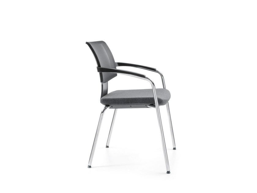 Training chair with armrests XENON NET 20H by profim