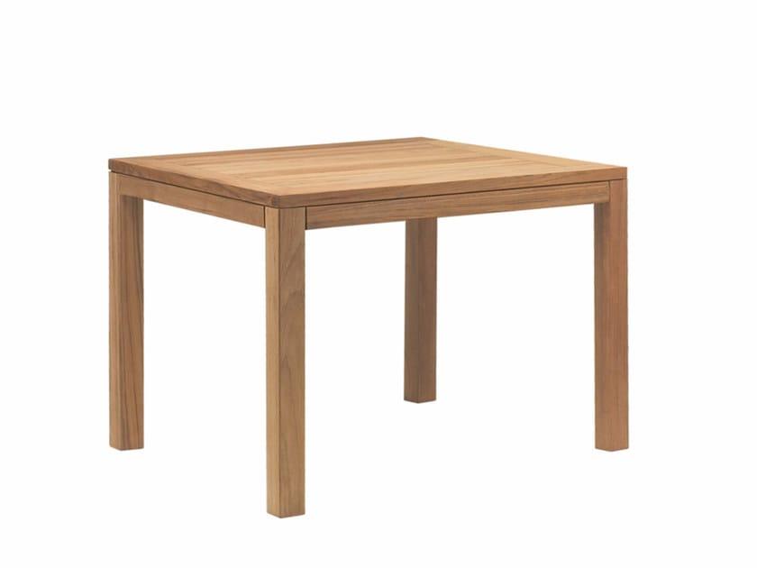 Teak garden side table XQI | Coffee table - ROYAL BOTANIA