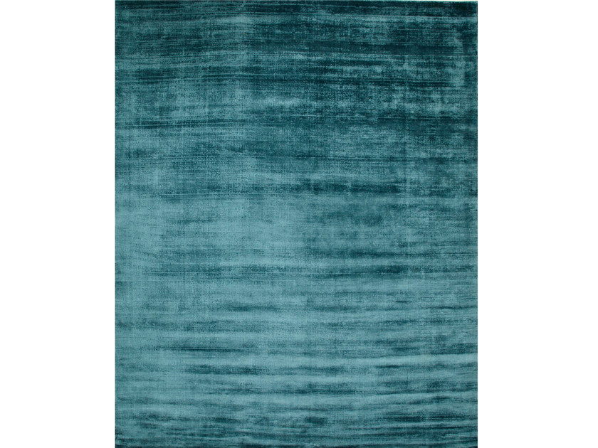 Solid-color rug YASMIN CADET BLUE - Jaipur Rugs