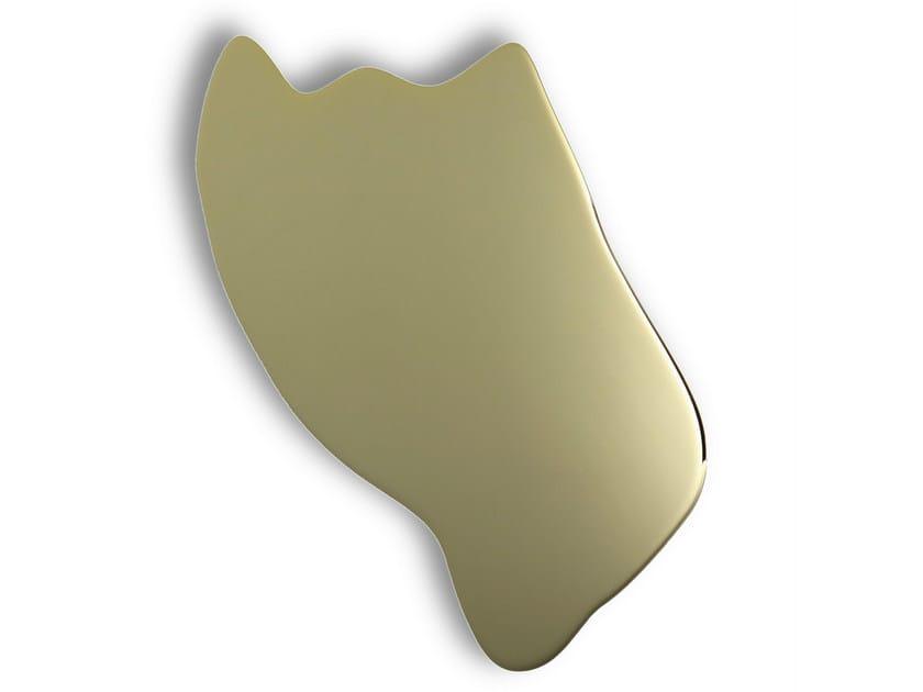 LED indirect light metal wall light YAYA 3 GOLD - Hind Rabii
