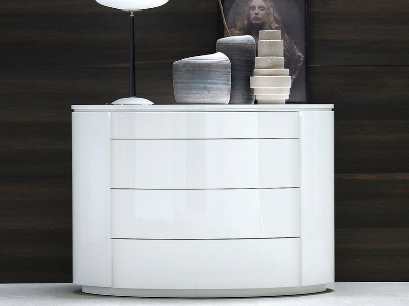 Lacquered dresser YNDRO | Dresser by Silenia