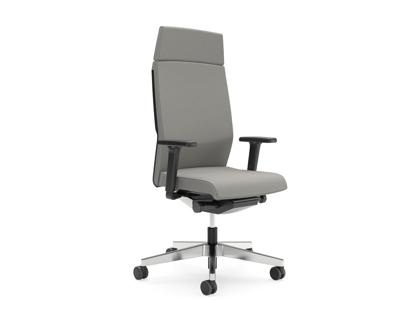 Swivel fabric executive chair with casters YOSTER IS3 365Y by Interstuhl