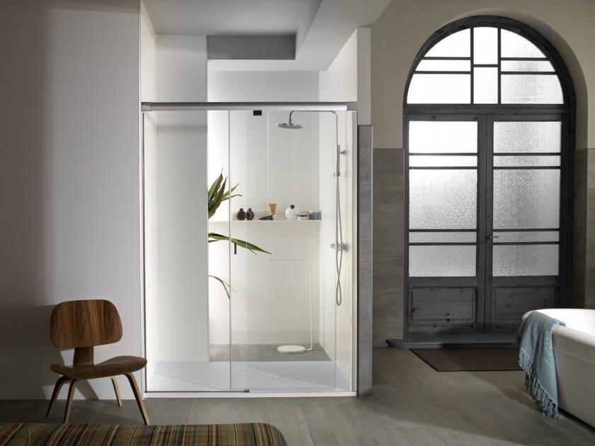 Rectangular glass shower cabin YOVE 9 - Systempool
