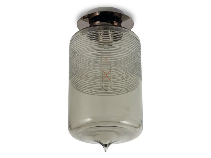 LED glass ceiling lamp PUUR, Z-PUUR, MEMORIA | Ceiling lamp - Hind Rabii