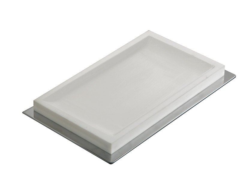 Countertop resin soap dish ESSENZA | Countertop soap dish - LINEAG