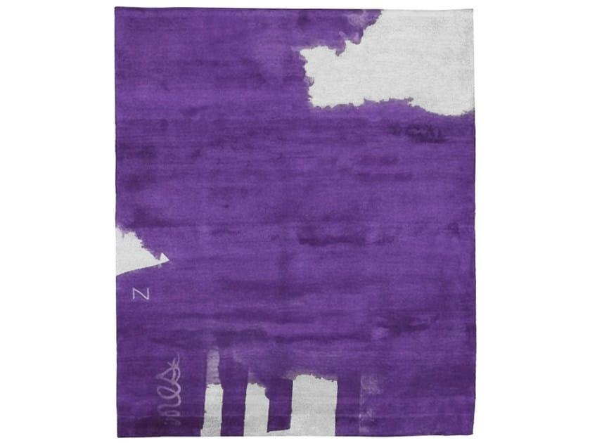 Handmade rectangular rug Z2 ANOTHER WORLD by HENZEL STUDIO