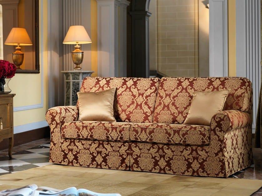 Divano in tessuto zante divano in stile classico domingo salotti - Divano classico tessuto ...