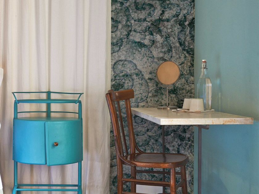 Stone effect panoramic wallpaper ZEE by Inkiostro Bianco