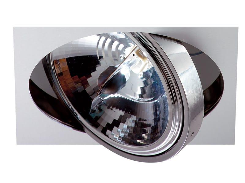 Recessed adjustable spotlight ZEN | Spotlight - Fabbian