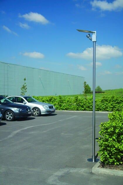 Stainless steel garden lamp post ZENON FL1 - BEL-LIGHTING