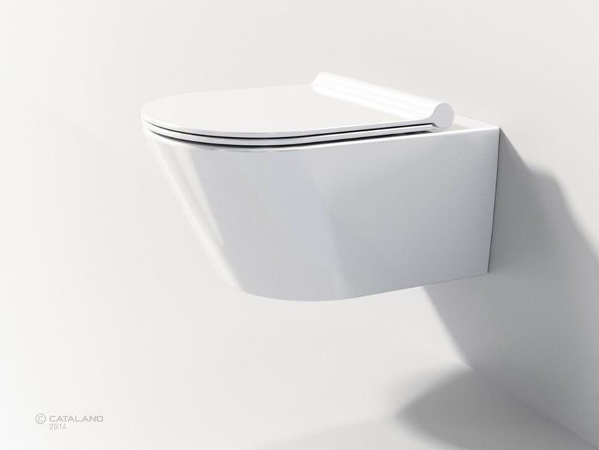 Wall-hung toilet ZERO NEWFLUSH 55 - CERAMICA CATALANO