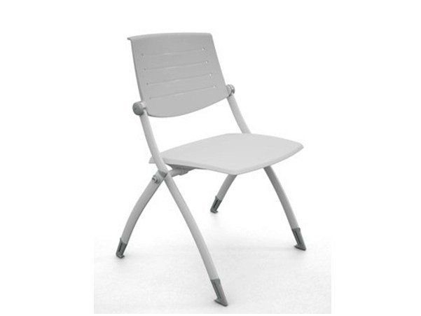 Stackable plastic training chair ZERO9 | Plastic training chair - Ares Line