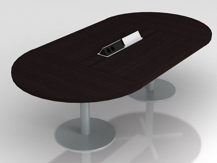 Oval meeting table ZETA | Meeting table by NARBUTAS