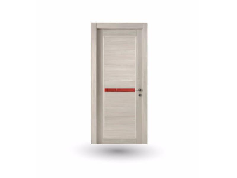 Hinged wooden door ZEUS Z320 CRONO WITH INSERT - GD DORIGO