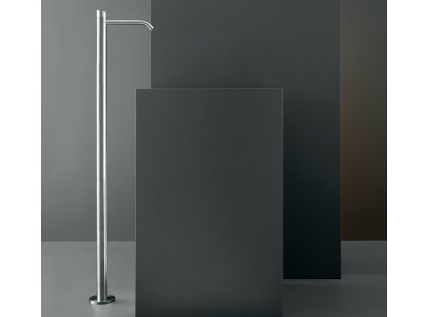 Floor standing hydroprogressive washbasin mixer ZIQ 41 - Ceadesign S.r.l. s.u.