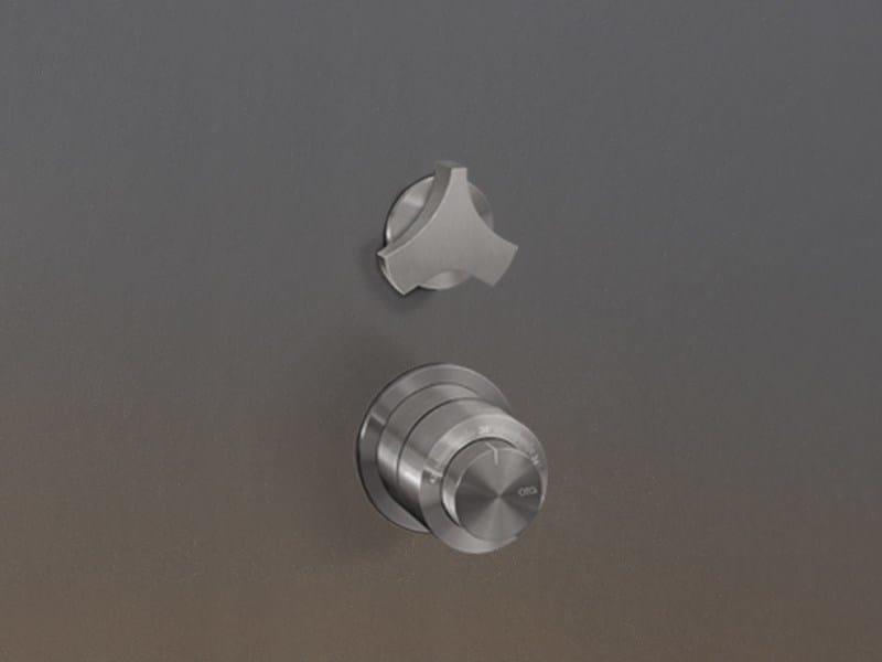 Thermostatic mixer set with shut-off valve ZIQ 75 - Ceadesign S.r.l. s.u.