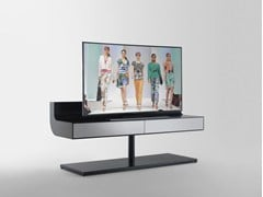 - Glass and aluminium TV cabinet ÈLLE | TV cabinet - RES
