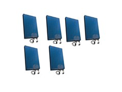 Kit per impianto fotovoltaico1,560 WATT KIT C/W 6 PANELS-6 MICRO - GARO ELECTRIC