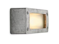 - Aluminium wall lamp 100632 | Block light aluminum natural - THPG