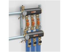 Pompa di calore e terminale geotermico110 | Collettore di distribuzione - CALEFFI