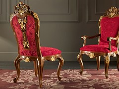 - Upholstered fabric chair 11502   Chair - Modenese Gastone group